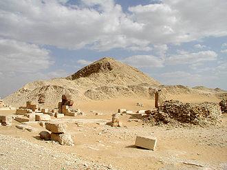 Pepi II Neferkare - Ruins of the pyramid complex of Pepi II