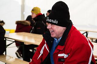 Per Eklund Swedish rally driver