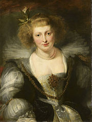 Helena Fourment (1614-73). The artist's second wife