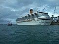 Petit navire FLINTERBOTHNIA avec COSTA MAGICA.jpg