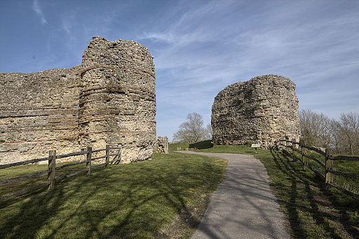 Pevensey Castle west gate
