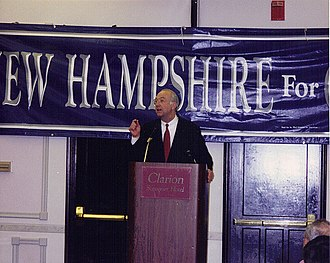 Phil Gramm - Gramm at a campaign Nashua, New Hampshire in 1995