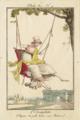 Philibert Louis Debucourt, Modes et Manières No. 9- L'Escarpolette-Chapeau de paille brodé, sans Rubans.png