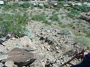 Sunnyslope Mountain - Image: Phoenix Sunnyslope View from Sunnyslope Mountain