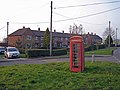 Phone box and housing, Newsbank (geograph 2879863).jpg
