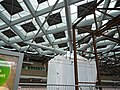Photo of the new transparent roof with skylights of Central Station The Hague; high resolution image by FotoDutch, June 2013.jpg