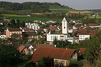 Lengnau, Aargau - Image: Picswiss AG 14 12