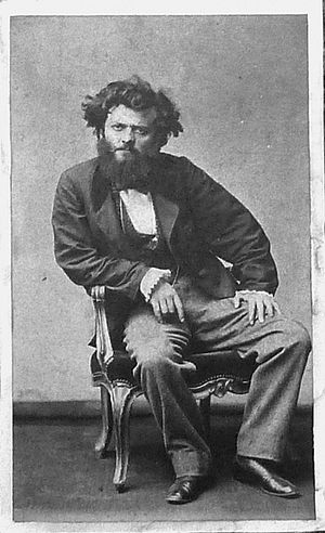 Pierre Petit (photographer) - Self-portrait (c.1870)