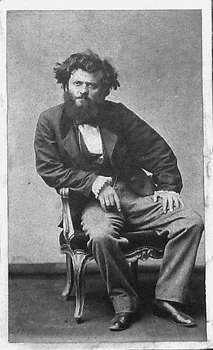 Pierre Petit (photographer) - Self-portrait (c.1870)