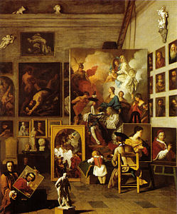 Pierre Subleyras, The artist studio.jpg