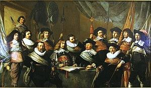 Pieter Soutman - Civic guard (schutterstuk) in Haarlem, 1642.
