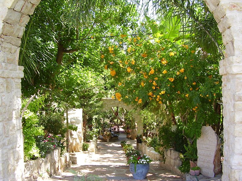 El Mona Garden, Israel - one of the 9 best places in the world to celebrate love