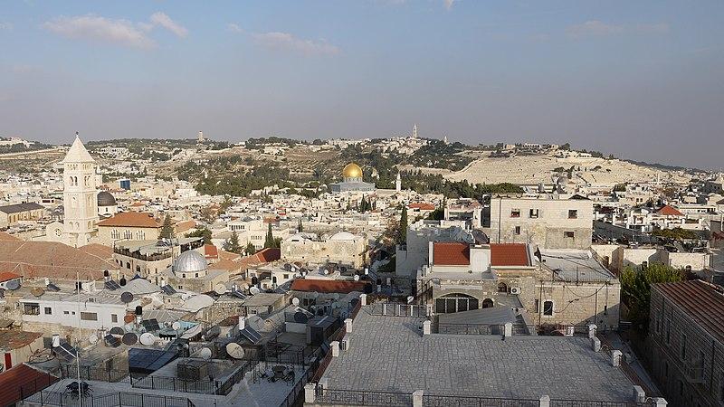 תצפית ממגדל דוד