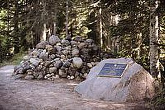 National Register of Historic Places listings in Hood River County, Oregon - Image: Pioneer Woman's Grave, Oregon