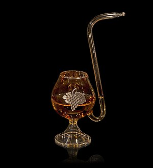 Snifter - A pipe snifter.