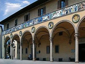 Pistoia - The Ospedale del Ceppo
