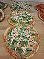 Pizza with shrimp and salad.jpg