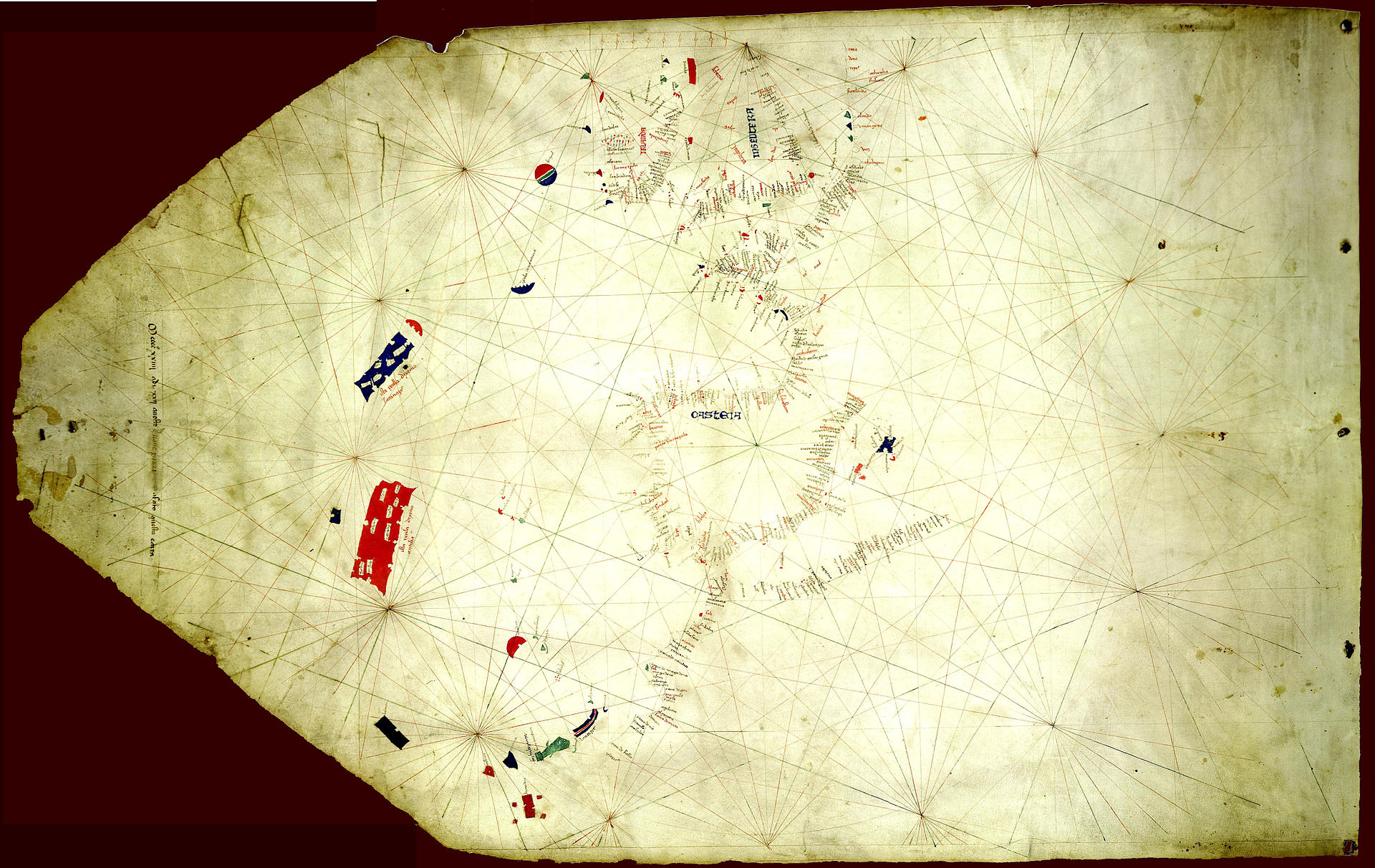 Map Of America Before Columbus.Does The Pizzigano Map From 1424 Really Show The Americas 70 Years