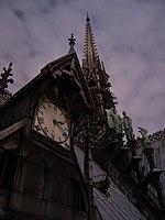 Plan de détail horloge des coursives et statues + flèche Viollet le Duc.jpg