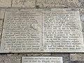 Plaque Ancienne Inscription Donjon Château Vincennes - Vincennes (FR94) - 2020-10-10 - 2.jpg