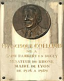 Plaque Francisque Collomb - Saint-Rambert.JPG