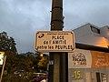 Plaque place Amitié Entre Peuples Fontenay Bois 1.jpg