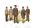 Plate I, Officers' Service Uniforms - U.S. Marine Corps Uniforms 1983 (1984), by Donna J. Neary.jpg