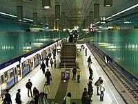 Platform in Houshanpi Station.JPG