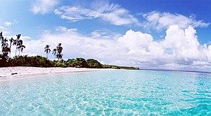 Los Santos Province - White sand beach in Isla Iguana