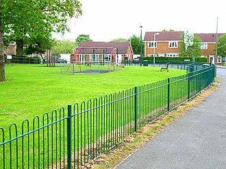 Scotton, Richmondshire - Image: Playground, Kestrel Drive, Scotton geograph.org.uk 171968
