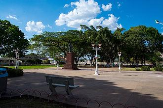 Anaco - Bolivar Square in Anaco.