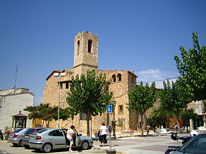 Cunit - Plaça Catalunya, known as Plaça del Casal