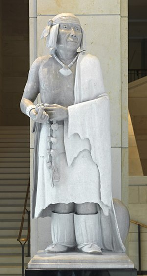 Po'pay (Fragua) - The sculpture in the National Statuary Hall Collection