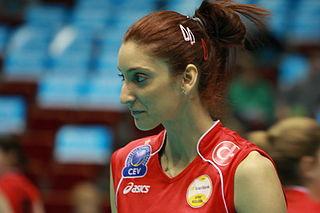 Polen Uslupehlivan Turkish female volleyball player