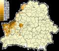 Poles in communes of Belarus (2009).png