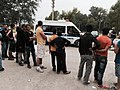 Police clear a refugee camp in Edirne, Turkey, September 23, 2015.jpg