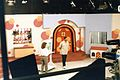 Polka Dot Door set in the 1980's with hosts Carrie Loring and Johnnie Chase.jpg