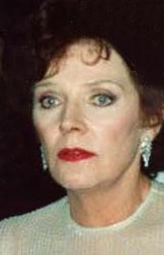 Polly Bergen - Bergen at the 1989 Emmy Awards
