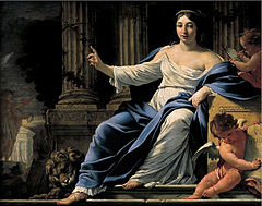 Polyhymnia, Muse of Eloquence by Simon Vouet.jpg