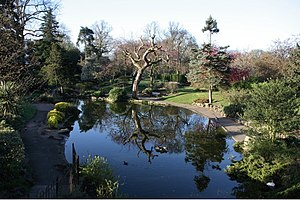 Walpole Park - Pond in sunken garden