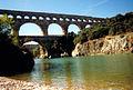 Pont du Gard in the summer of 1997.jpg
