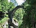 Ponte Romano von 1587 bei Intragna mit einer Breite von 36 m und einer Höhe von 26 m, Ponte Romano Vicino Intragna - Centovalli - panoramio (1).jpg