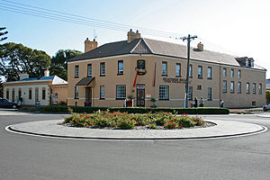 Port Fairy - Image: Port Fairy, Seacombe House hotel, 30.11.2009