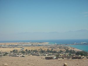 Port of Nuweiba.