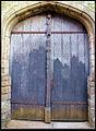 Portail de l'église Saint-Pierre de Flers Bourg, ( Fiche Mérimée, PA00107879 ).jpg