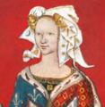 Portrait Marguerite de Rohan-fond rouge.png