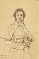 Portrait du Violoniste Paganini (1819) - Jean A.D. Ingres.png