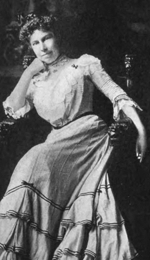 Portrait of Clara Louise Burnham