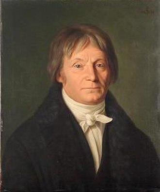 Joseph Görres - Portrait of Görres, by Joseph Anton Settegast