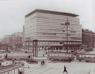 Columbushaus Office complex in Berlin (Demolished)
